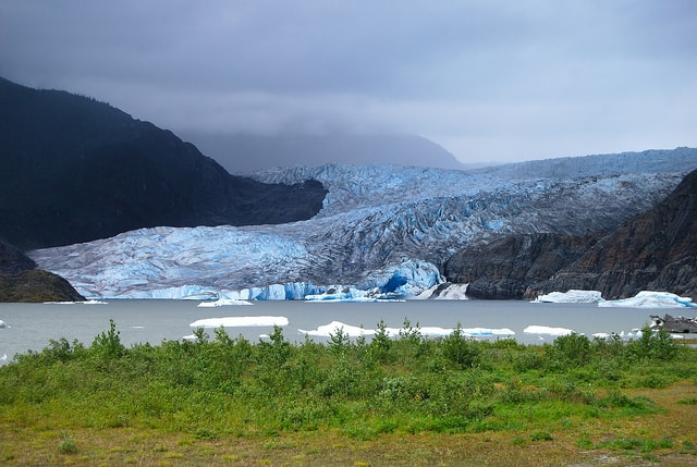 Mendenhall Glacier Photo Point