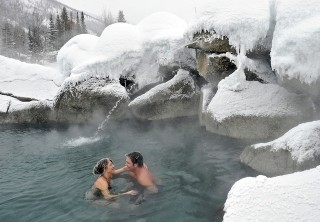 Photo of Fairbanks Evening at Chena Hot Springs Tour geothermal hot spring