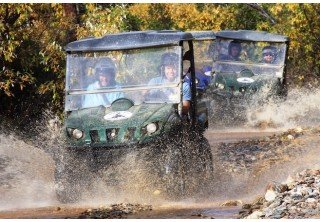 Photo of Puddle trail Denali ATV