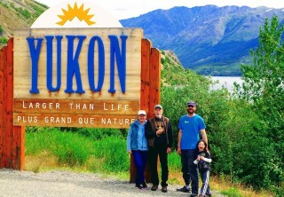 Photo of Skagway Yukon Sign