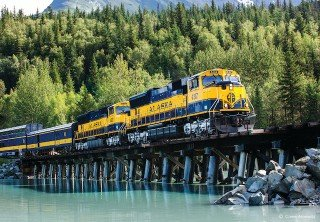 Photo of Train Pier Alaska Railroad