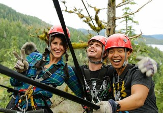 Photo of ZIPLINERS AT BEAR CREEK 2