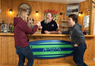 Photo of alaskan brewery beer tasting