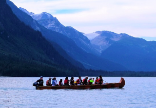 Photo of haines chilkoot canoe wildlife safari exploring Chilkoot lake