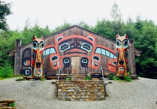 Photo of saxman totem village and wildlife extension tour
