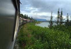 Photo of skagway bennett scenic railroad journey