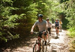 Photo of skagway cycle trail