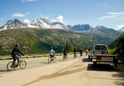 Photo of skagway cycle white pass summit