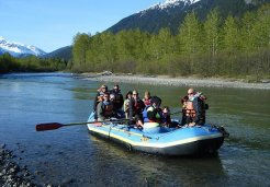 Photo of skagway river float