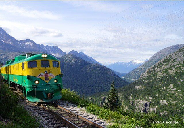 Photo of skagway white pass railroad summit excursion