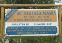 Photo of Bettles Field Sign