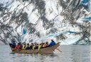 Photo of Canoeing in front of the Mendenhall Glacier