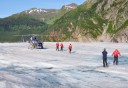 Photo of Juneau Helicopter Glacier Walkabout Landing