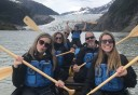 Photo of Juneau Mendenhall Lake Canoe Adventure Tour Group Photo