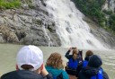 Photo of Juneau Mendenhall Lake Canoe Adventure Tour Waterfall
