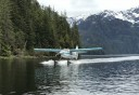 Photo of Ketchikan Misty Fjords Cruise and Flight Tour Floatplane Approaching Misty Dock