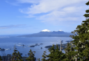 Photo of Sitka Sound with mountains