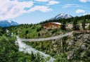 Photo of Skagway White Pass Summit and Beyond Tour Suspension Bridge