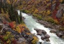 Photo of Tutshi River in Yukon Territory