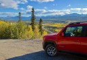 Photo of denali self guided jeep adventure Overlooking the Nenana Canyon