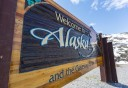 Photo of welcome to alaska sign