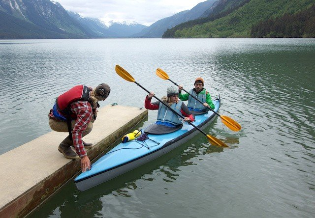 Photo of Chilkoot Lake Kayaking takeoff