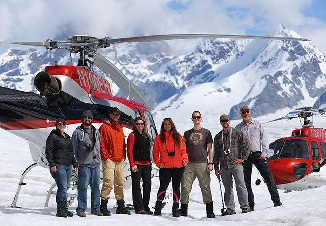 helicopter tour group