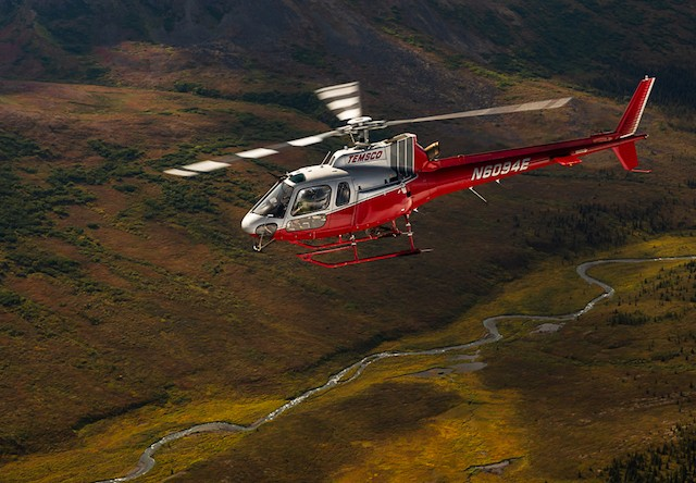 Photo of Denali Heli Hike Flying Along the Alaska Backcountry