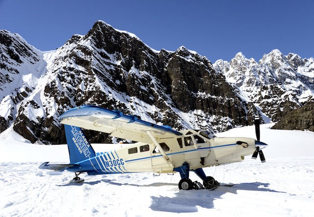 Photo of Denali_Glacier_Landing_and_Air_Tour_Airplane_on_the_Ruth_Glacier