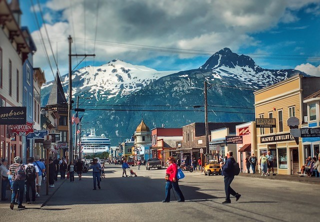 Photo of Downtown Skagway