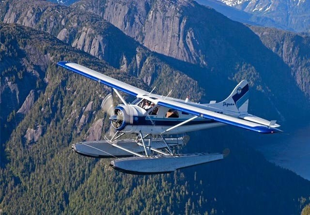 Photo of Floatplane Flying over Misty Fjords Naitional Park