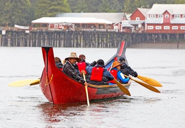 Tlingit Canoe