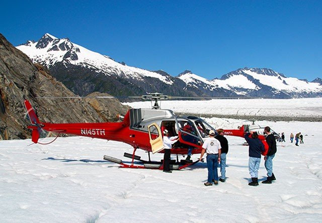 Photo of SCENIC LANDING ON THE MENDENHALL GLACIER