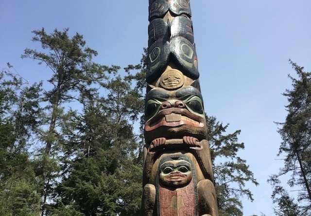 Photo of Totem pole at sitka national historic park