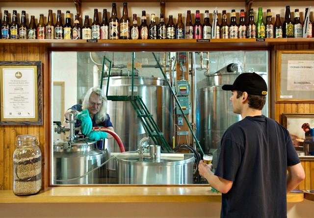 Juneau Brewery Tour