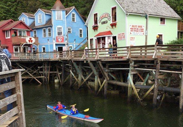 ketchikan city kayaking