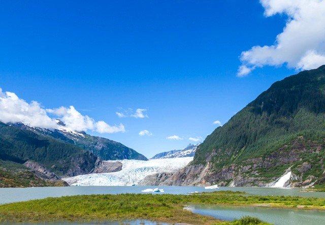 Mendenhall Glacier Amp Juneau City Tour Alaska Shore