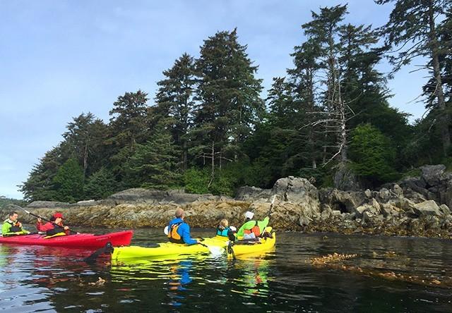sitka harbor kayak