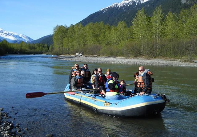 skagway river float