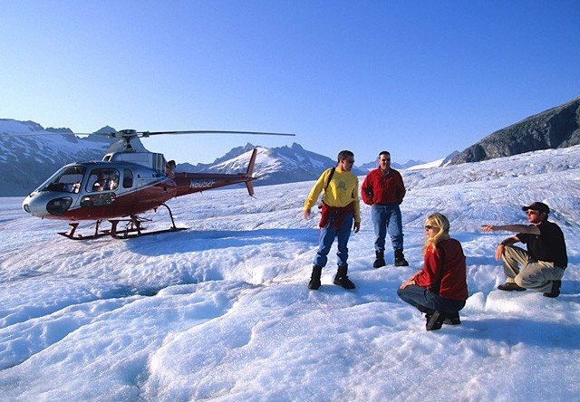 Skagway Glacier Helicopter Tour Alaska Shore Excursions