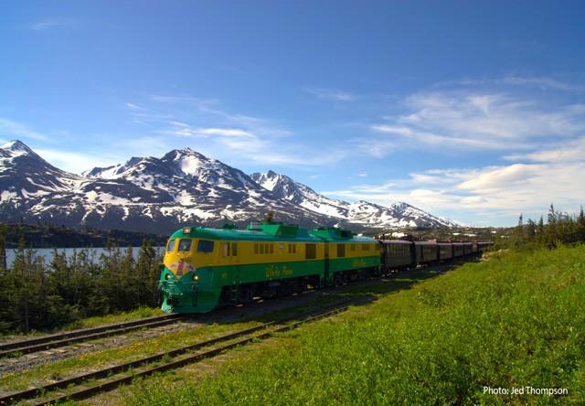 Photo Of Skagway White P Railroad Train