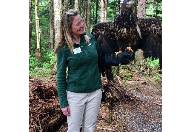 Guide at Alaska Raptor Center