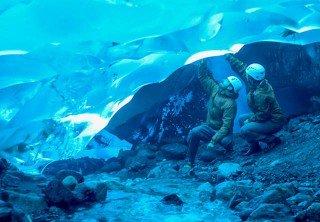 Mendenhall Glacier Ice Cave Tours on Mendenhall Glacier Tours