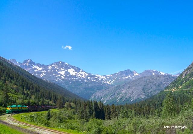 Photo Of White P Railroad View
