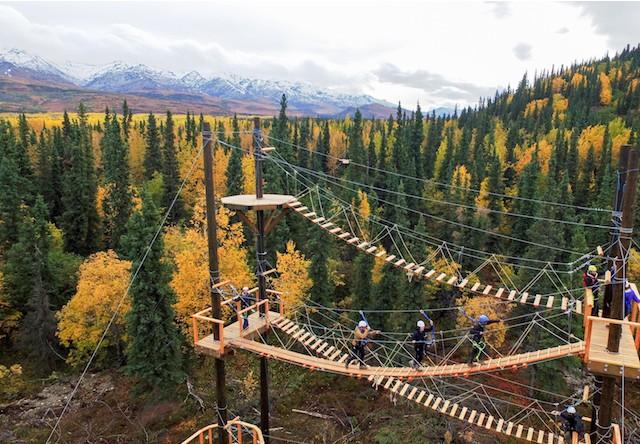 what to wear ziplining in alaska